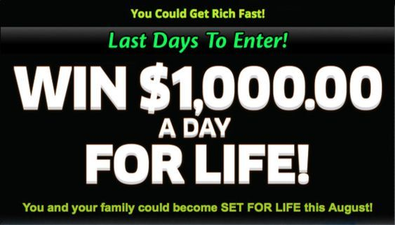 PCH Win $1,000 a Day for Life Sweepstakes | pch entry | Winning