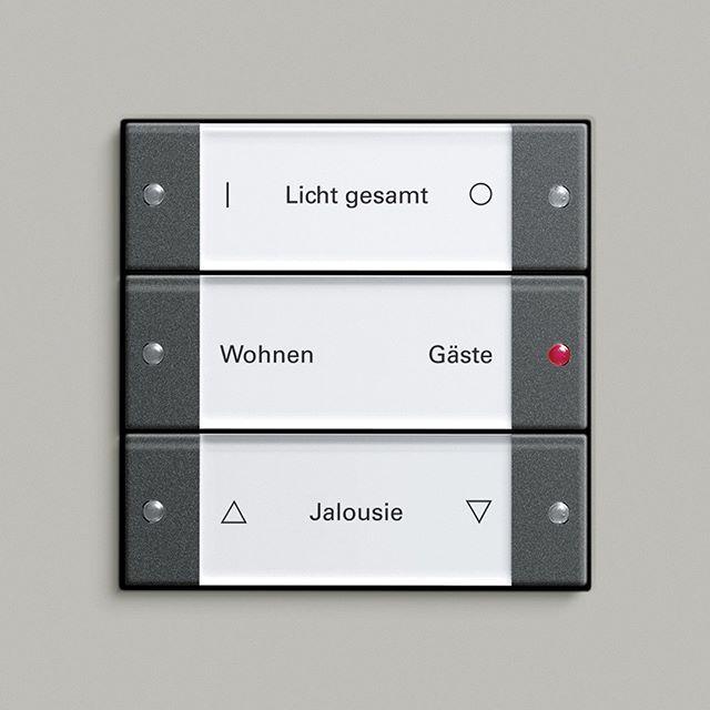 Ihr Wollt Eure Lampen Und Jalousien Mit Mehr Als Einem Gewohnlichen Schalter Bedienen Dann Lasst Euch Von Unserem Gira E3 S In 2020 Schalterprogramm Jalousien Licht