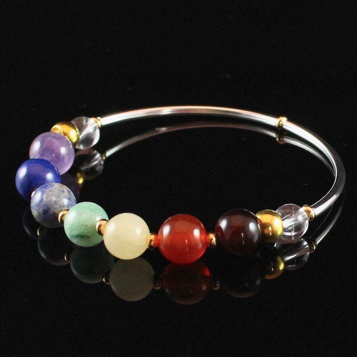 7 Chakra Bracelet, Chakra Balancing Bracelet.