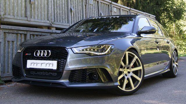 Lag bisher die Latte bei getunten Audi RS6 C7 bei exakt 700 PS, hebt Tuner MTM die Leistung des aufgeladenen V8 nun noch ein deutliches Stück mehr an.
