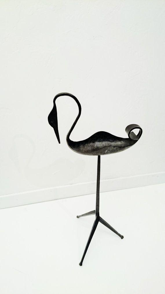 Sculpture vintage en ferronnerie d' #art des #années50 https://www.etsy.com/fr/listing/260793835/sculpture-des-annees-50-les-ateliers-de