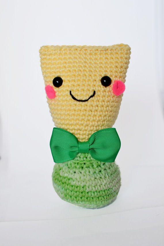 Crochet Bassoon Reed by DoubleReedGifts on Etsy