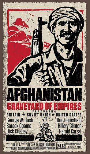 Afghanistan Anti-War Movie Poster
