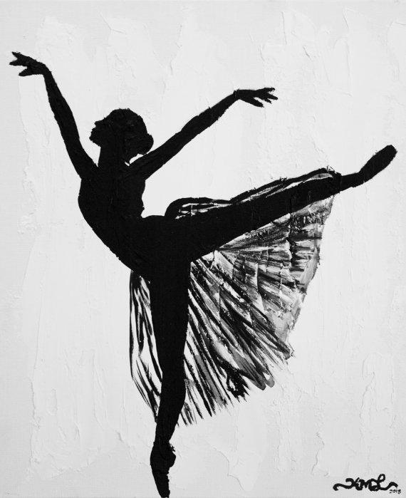 графические картинки балерин работника после