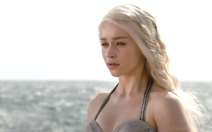 Emilia Clarke (born 1 May 1987) is an English actress, known for her role as Daenerys Targaryen in the HBO series Game of Thrones, for which she has received an Emmy Award nomination. Description from pixgood.com. I searched for this on bing.com/images