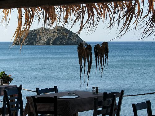 "Greek ""Taverna"" a simple restaurant.."