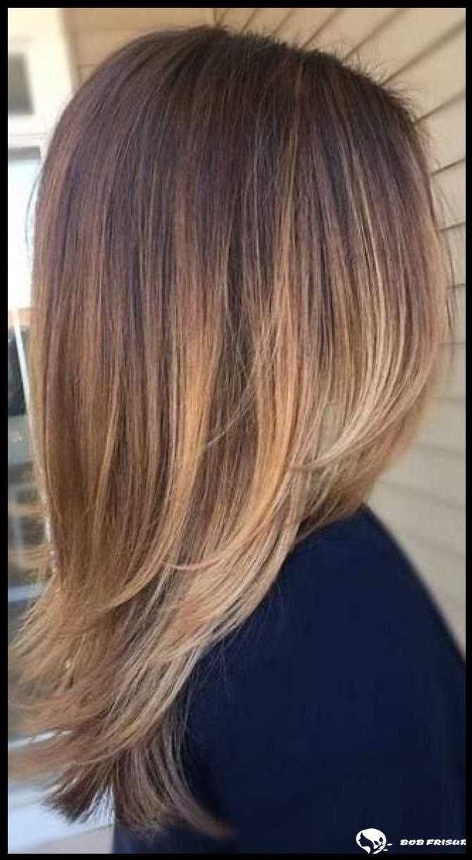46 Wunderschone Balayage Haarfarbe Ideen Fur Blondes Kurzes Glattes Haar Medium Layered Haircuts Medium Length Hair Styles Shoulder Length Hair