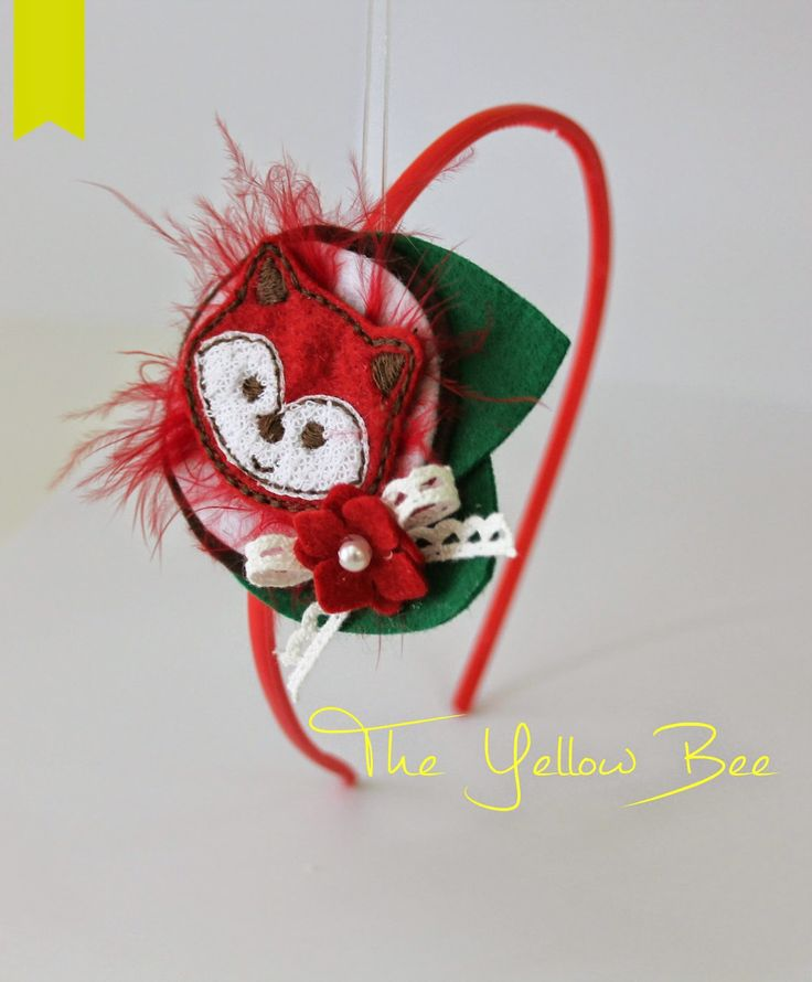 Fox headband! Handmade headbands, hair accessories & accessories for children! Χειροποίητες κορδέλες μαλλιών , αξεσουάρ μαλλιών και αξεσουάρ για παιδιά!