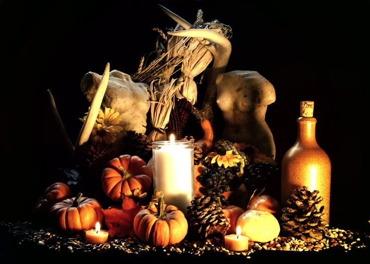 Witches Fall Wallpapers Mabon Autumn Equinox Pagan Altar By El Sharra On