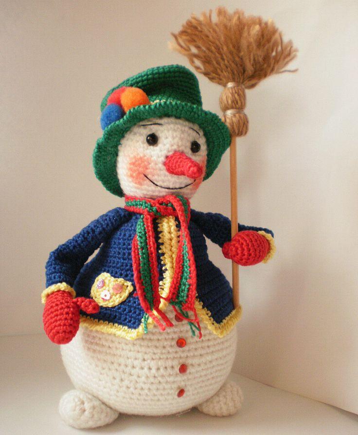 17 Best images about ? Crochet Knit Snowman ? on Pinterest Christmas knitti...