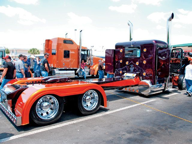 peterbilt trucks | Custom Big Rig Truck Show 2008 International 9900Ix