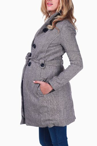 Beige Maternity Coat, I bought this on pinkblushmaternity   can't wait to get it!