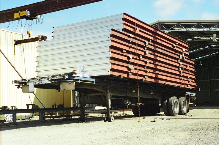 Steel floor frame chassis fabricated at our factory near Mittagong NSW for the Sydney 2000 Olympic Village.