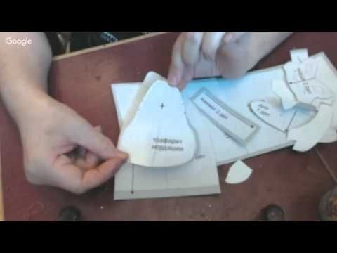 Вебинар.Анастасия Голенева.Шьем Тельца в технике грунтованный текстиль.