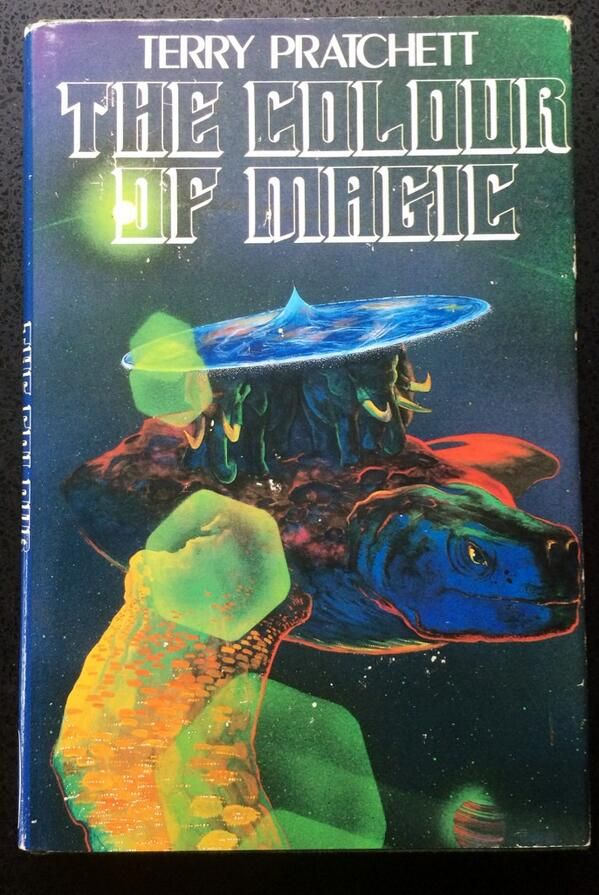 terry pratchett on the colour of magicterry - The Color Of Magic Book