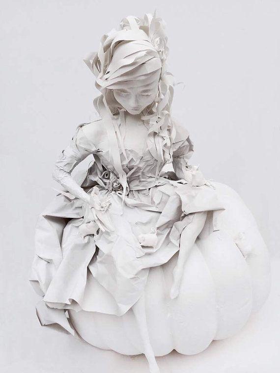 Cinderella Art Sculpture  by SwankyEgg on Etsy, $1500.00