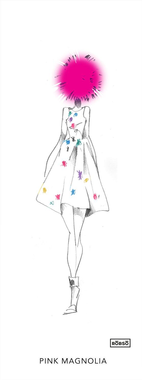 Rōbsō Illustration: Día 1 MBFWMx PV 2015 // Live Sketches