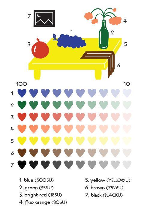 color chip - popurri