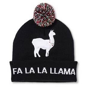 Bioworld® Fa La Llama Hat - Green/Red One Size : Target
