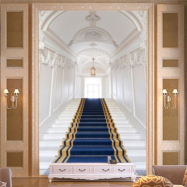 european style photo wallpaper custom 3d wall murals white. Black Bedroom Furniture Sets. Home Design Ideas