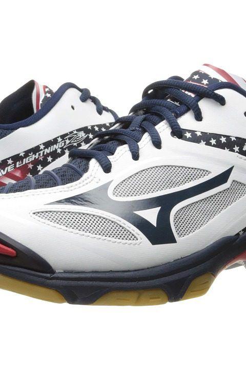 Mizuno Wave Lightning Z3 (Stars & Stripes) Men's Volleyball Shoes - Mizuno, Wave Lightning Z3, 430226-0U0U, Footwear Athletic Volleyball, Volleyball, Athletic, Footwear, Shoes, Gift, - Street Fashion And Style Ideas