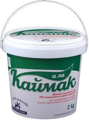 Requesón Kaymak SABAO-AD 70%, 2kg -  Servia  Сыр Sabao-Ad Каймак творожный