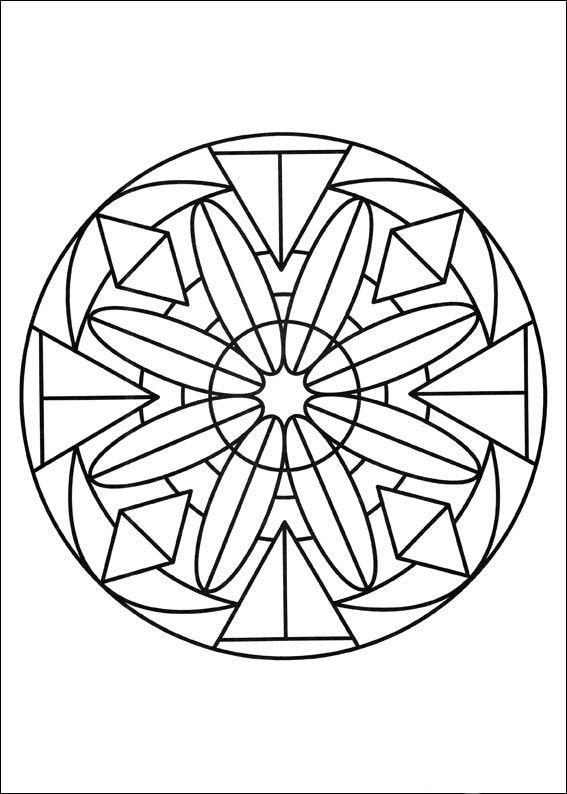 desenhos para colorir para crianas desenhos para imprimir e colorir mandalas 73 coloring pages mandalafree - Free Mandala Coloring Pages