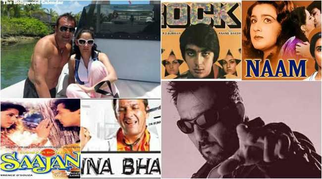 Top 10 Movies Of Sanjay Dutt in Bollywood such as Saajan, Naam, Kaante, Munna Bhai MBBS, Lage Raho Munna Bhai, Rockey, Sadak and Vaastav
