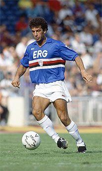Gianluca Vialli (UC Sampdoria, 1984–1992, 223 apps, 85 goals)