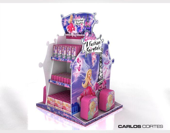 EXHIBIDORES EN CARTÓN by carlos cortes at Coroflot.com