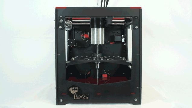 A Combo 3-D Printer, CNC Machine And Laser Etcher Makes A Lot Of Sense