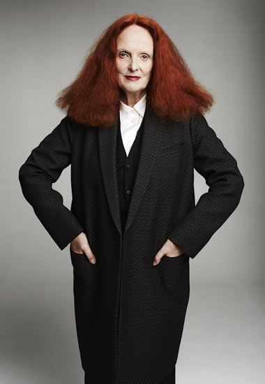 Grace Coddington, creative stylist extraordinaire and soul of Vogue US