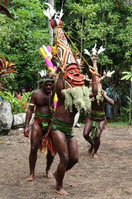 Malakula Island, Vanuatu, architectural ornament