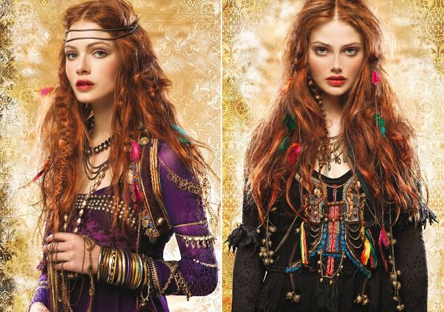 Цыганский стиль в одежде, как ответвление бохо стиля. -