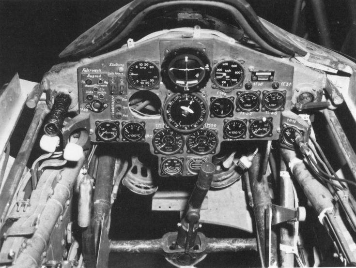 Horten Ho 229 cockpit.