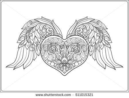 17 Best Ideas About Angel Wings Drawing On Pinterest