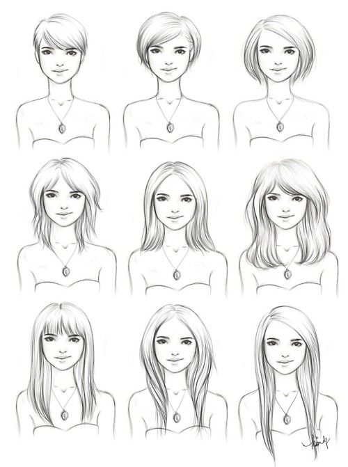 Guide to growing out your hair...
