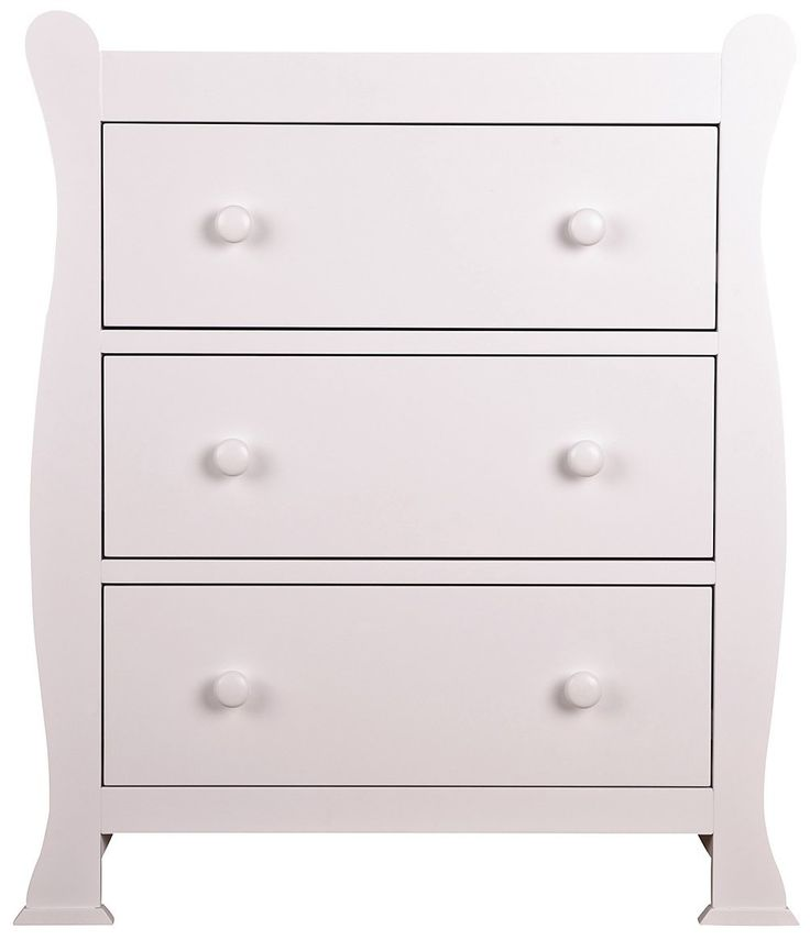 Sweet Dreams Izzy Chest Of Drawers, 55 X 85 X 98 Cm, White: · Baby FurnitureChest  ...