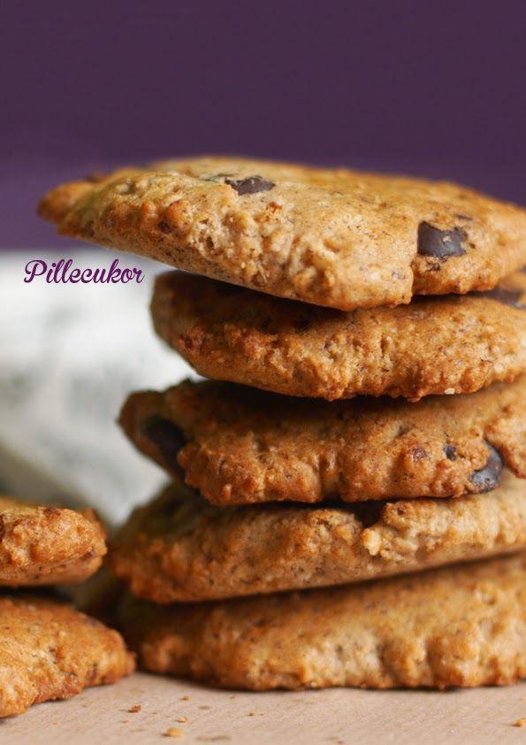 Pillecukor ♥: Csokis keksz (paleo)