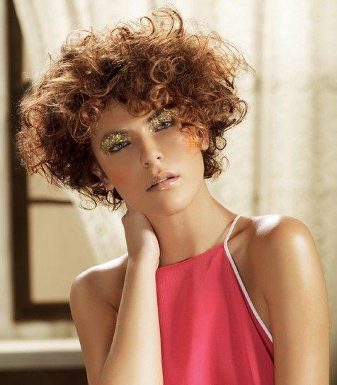 Taglio corto per capelli ricci Primavera Estate 2014