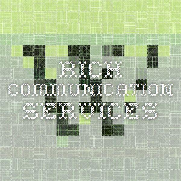 Rich Communication Services