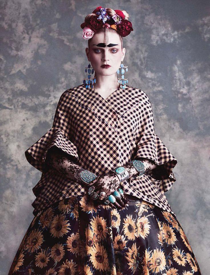 Guinevere Van Seenus by Daniele Duella & Iango Henzi for Vogue Germany June 2014 4