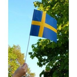 Svenska flaggan pappersflagga