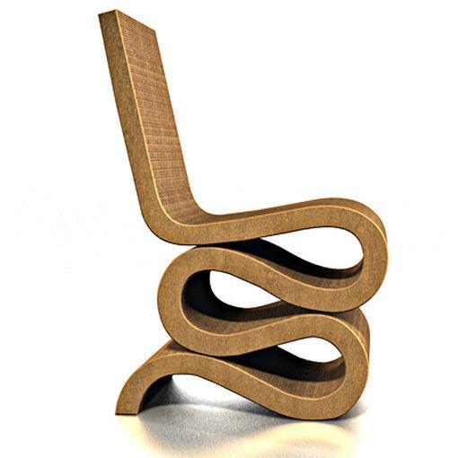 Wiggle Side Chair - La Silla de Cartón - Un Mundo Mejor