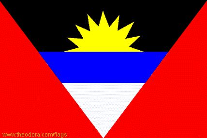 Flag of Antigua and Barbuda - Geography, Flag, Map, Economy, Geography, Climate, Natural Resources, Current Issues, International Agreements, Population, Social Statistics, Political System