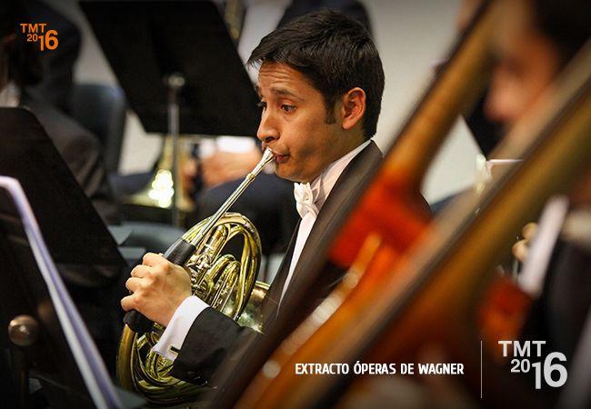 Los extractos que se presentaron en el concierto fueron: Preludio de Tanhäuser Preludio de Parsifal  Obertura de Rienzi  Liebestod de Tristan e Isolde