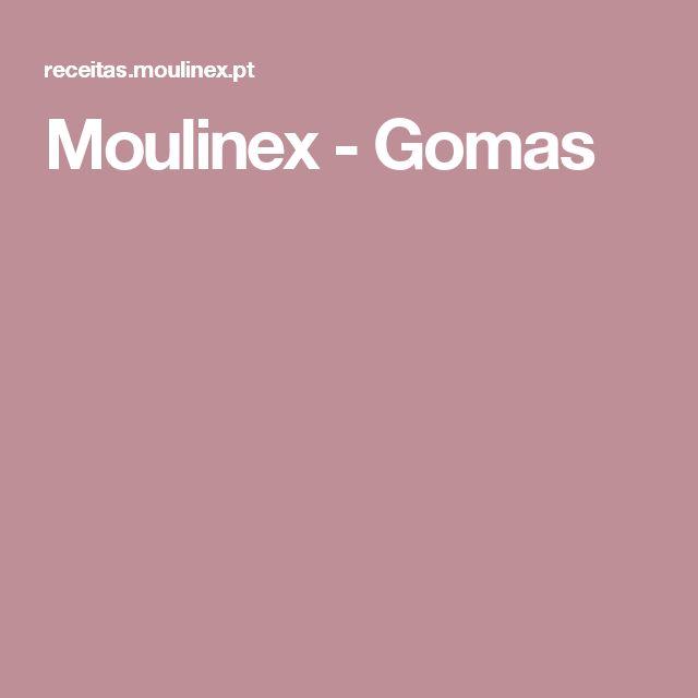Moulinex - Gomas