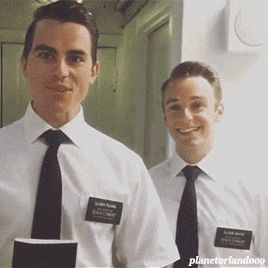 the book of mormon london cast 2015. aka biggest, cutest dorks ever.