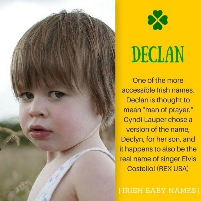 St Patricks Day 17 Irresistible Irish Baby Names