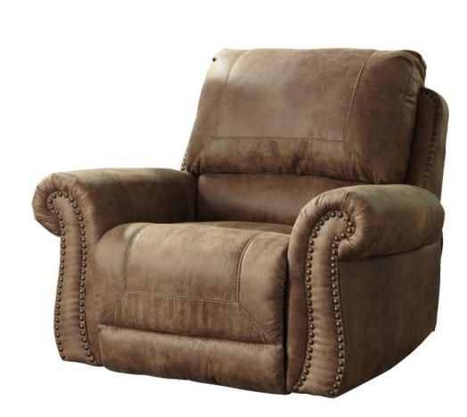 quot in large recliners arm top mathis brothers lzb man brown inch rocker pillow dark for recliner